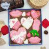 caja galletas personalizadas San Valentin regalo rosa