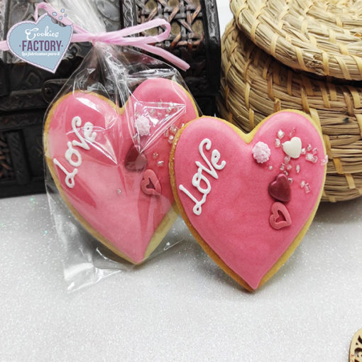 galletas decoradas san valentin corazon rosita