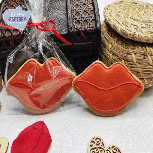 galletas decoradas san valentin labios rojos