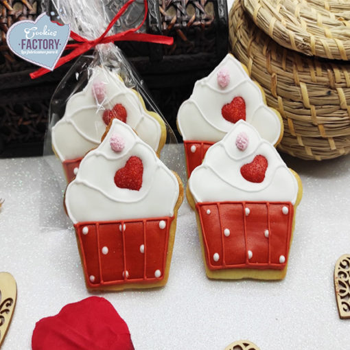 galletas decoradas san valentin pasteles rojos