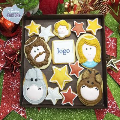 caja galletas personalizadas empresa regalo