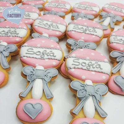 galletas decoradas numero uno