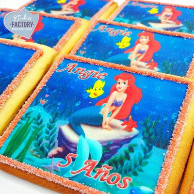 galletas personalizadas ariel