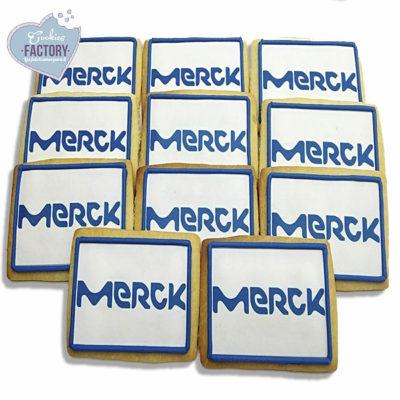 galletas personalizadas empresa merck