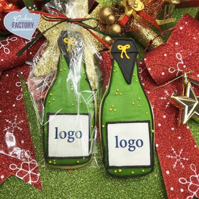 galletas personalizadas navidad empresa logo