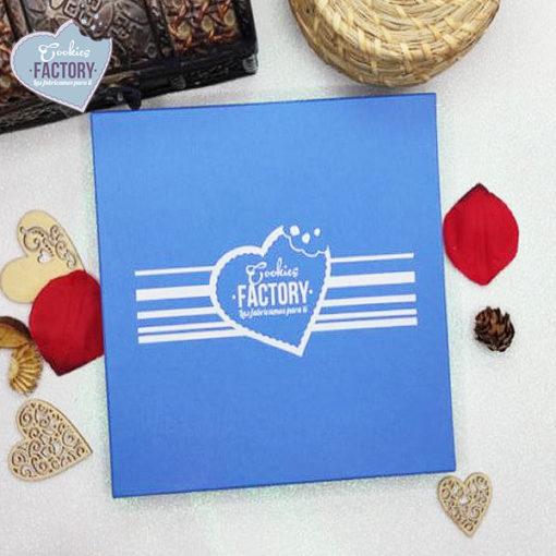 caja galletas personalizadas San Valentin