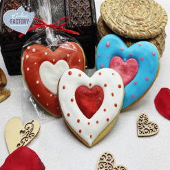 galletas decoradas san valentin corazon corazon