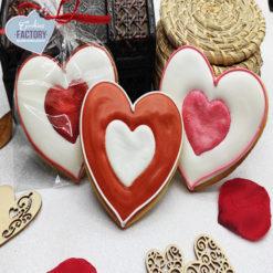 galletas decoradas san valentin corazon perfilado