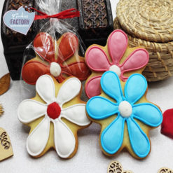 galletas decoradas san valentin flores