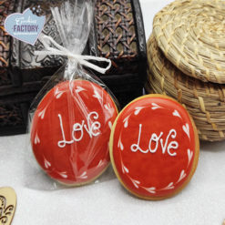 galletas decoradas san valentin love red